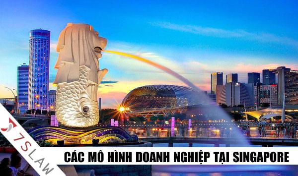 Các loại hình công ty nước ngoài ở singapore