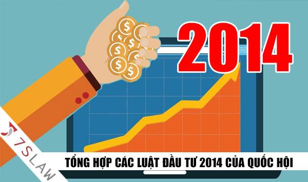 Luật Đầu tư 2014 và luật đầu tư 2014 sửa đổi bổ sung 2016 ra sao?
