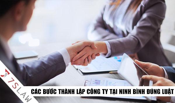 Các bước thành lập công ty tại Ninh Bình đơn giản mới nhất!