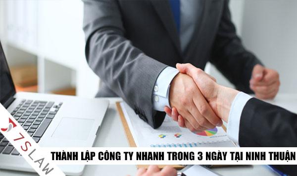 Điều kiện thành lập công ty tại Ninh Thuận mà bạn cần biết!