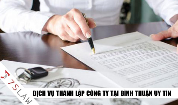 Thành Lập Công Ty Tại Bình Thuận - Trọn Gói, Nhanh Chóng