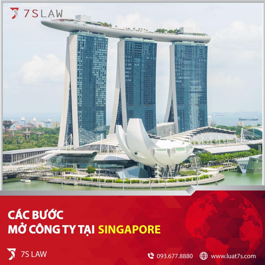 Các bước mở công ty tại Singapore