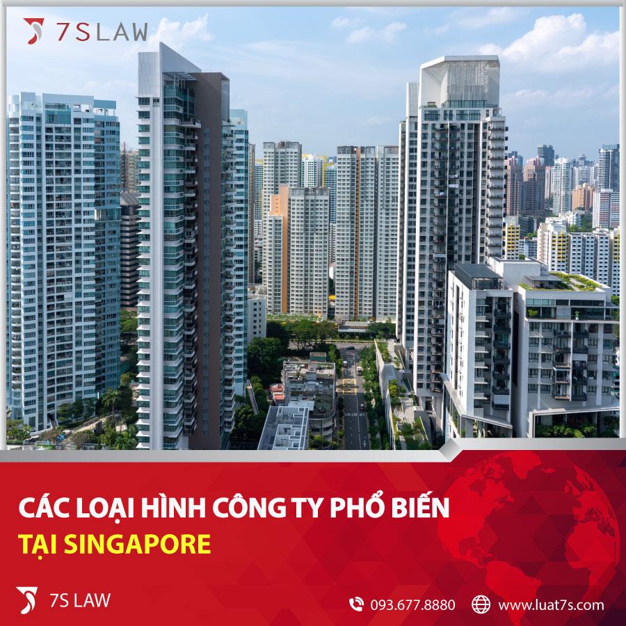Các loại hình công ty phổ biến tại Singapore