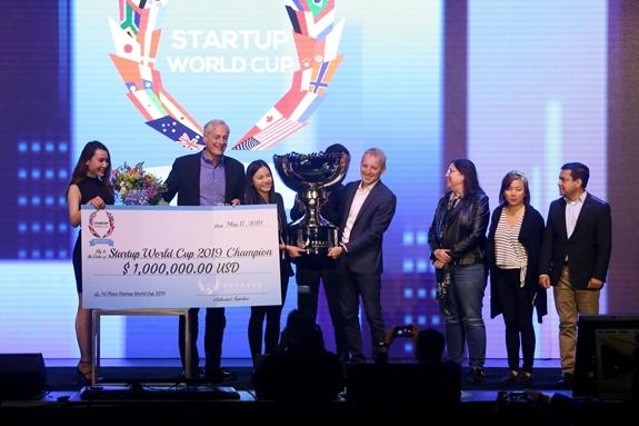 Abivin vô địch cuộc thi Startup World Cup