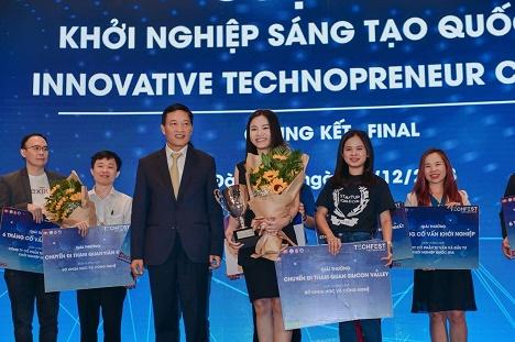 Abivin vô địch cuộc thi Sáng tạo khởi nghiệp quốc gia Techfest Vietnam