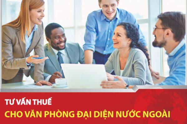 Dịch vụ tư vấn thuế cho văn phòng đại diện nước ngoài